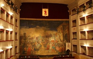 Teatro Pacini - interno