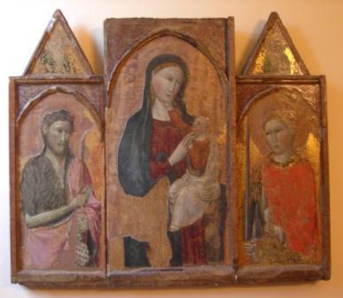 Madonna con Bambino fra S. Giovanni Battista e S. Michele Arcangelo