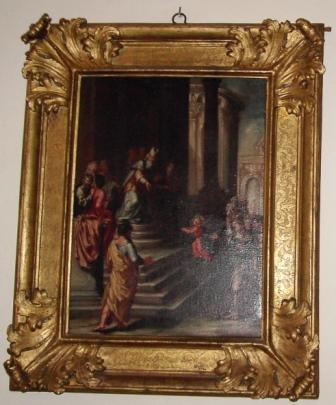 La presentazione della Vergine al tempio