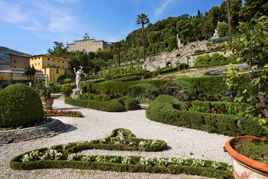 panoramica giardino Garzoni