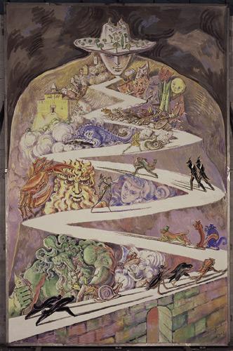 dipinto di Andrea Granchi