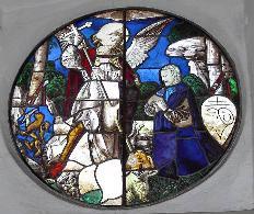 vetrata San Michele 1548