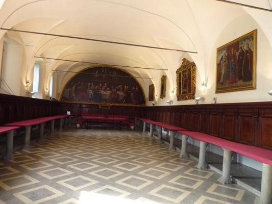 refettorio ex convento benedettine di San Michele