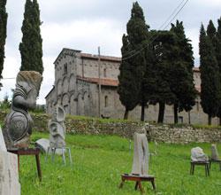 sculture in esposizione