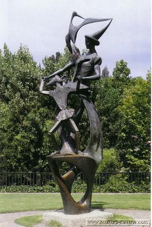 monumento a pinocchio e la fatina