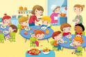 mensa bambini