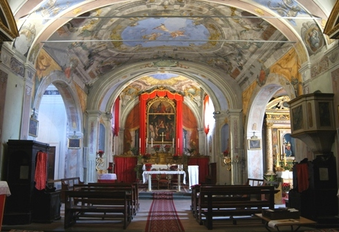 interno Pieve di S. Bartolomeo - Collodi