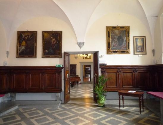 uscita refettorio ex convento benedettine di San Michele