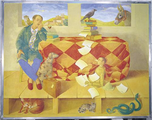 dipinto di Gioxe de Micheli